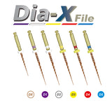 Dia-X NiTi Heat Treated Rotary Files