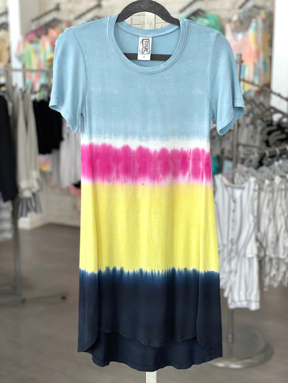Mystic River Tie Dye Dress