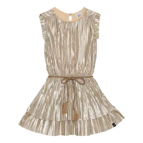 Champagne Metallic Dress