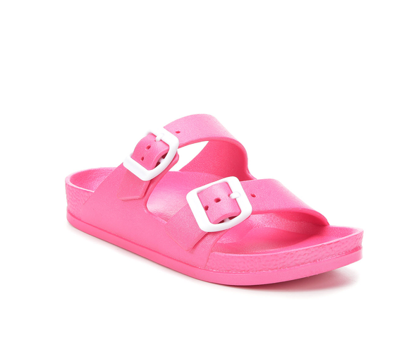 Little Jasmin Hot Pink Slip On