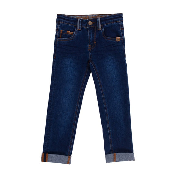 Denim Straight Leg Pant
