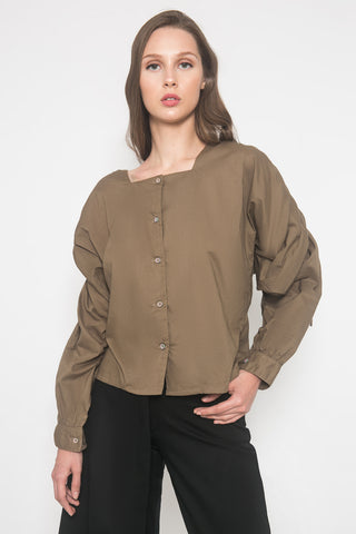 Mariana Top Olive Green