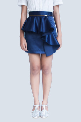 Detachable Peplum Skirt