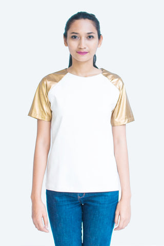 Golden Gladiator Top