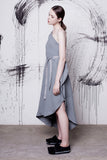 Cocoon Dress Grey