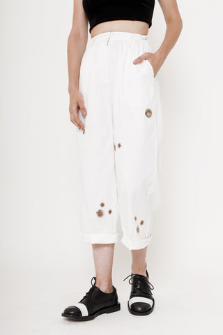 Prugio Pants- White