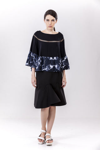 Flutter Top Black