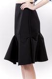 Wave Skirt Black