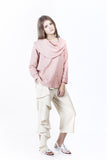 Amina Top - Dusty Pink