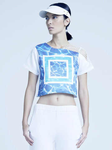 Contained Water Crop Top