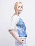 Ocean Raglan Top (White)
