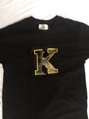 Duke Alphabet T-shirt Black
