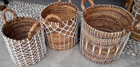 Macrame Baskets