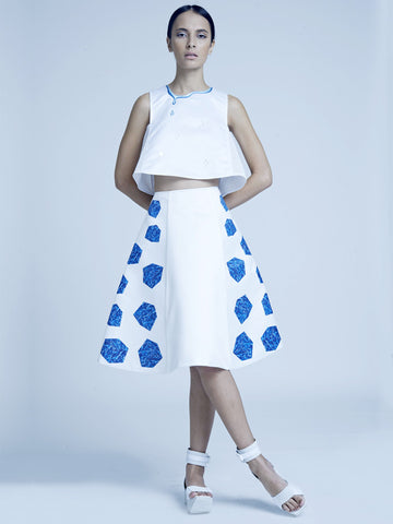 Water Cube Skirt