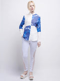 Water Quadrant Top (Blue)