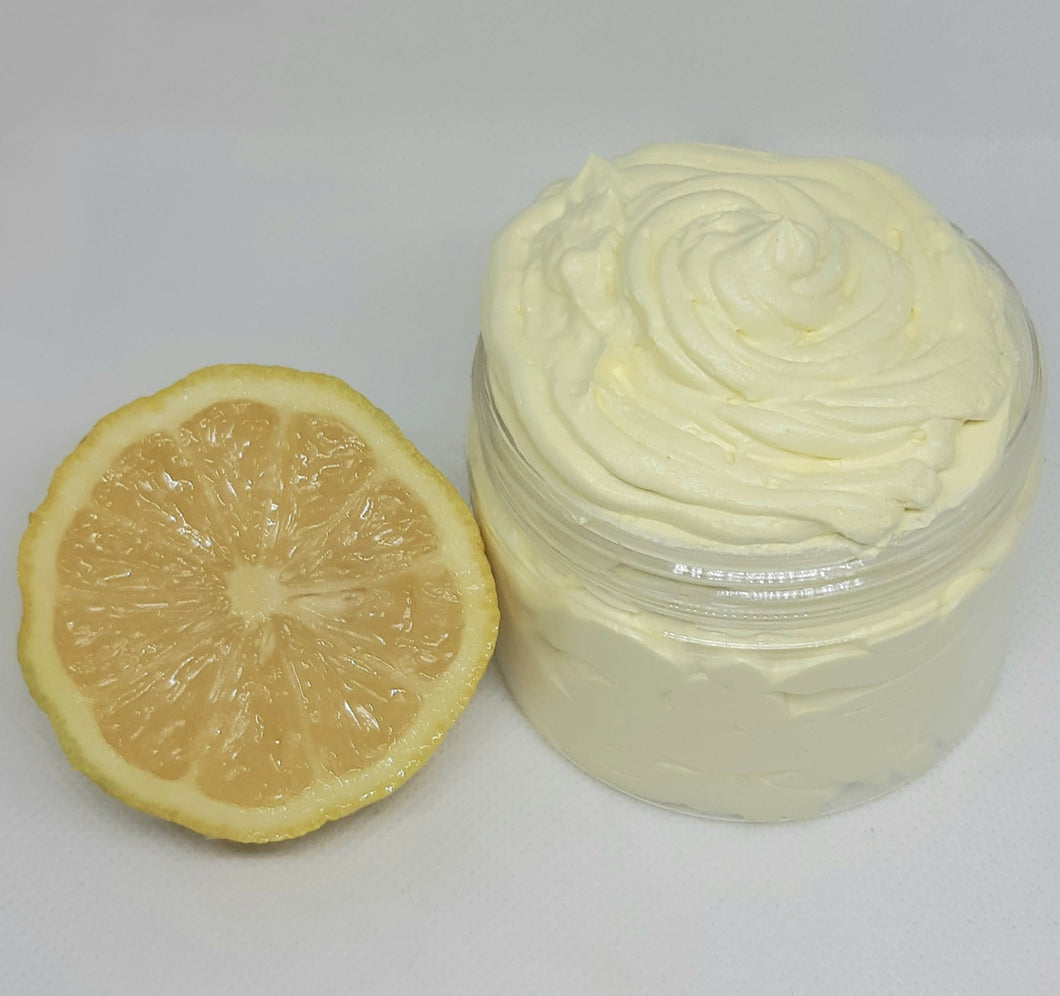 Whipped Lemon Body Butter