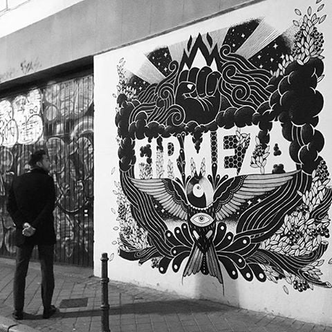 Firmeza at the street in Madrid
