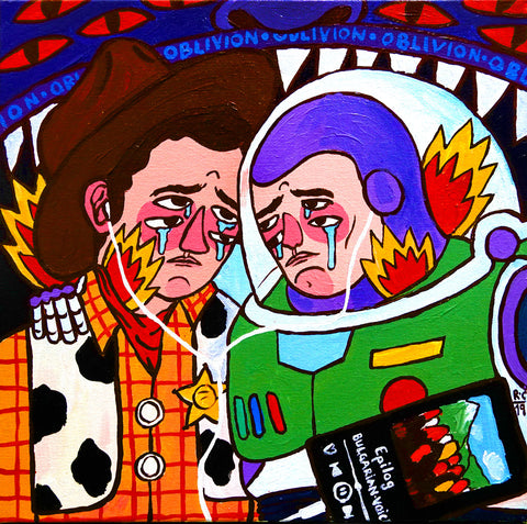'Woody &Buzz' by Ricardo Cavolo
