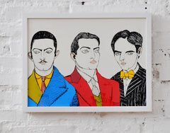 Dalí, Buñuel and Lorca in the Hall of Residence