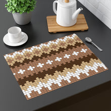 Load image into Gallery viewer, Bernie Sanders Mitten Placemat Bernie Placemat - Bernie Mittens Pattern Print Placemat - Bernie Meme Bernie Funny Table Placemat