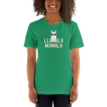 Load image into Gallery viewer, Llamala Momala - Funny Llama in Sunglasses Kamala Mamala Theme Short-Sleeve Unisex T-Shirt