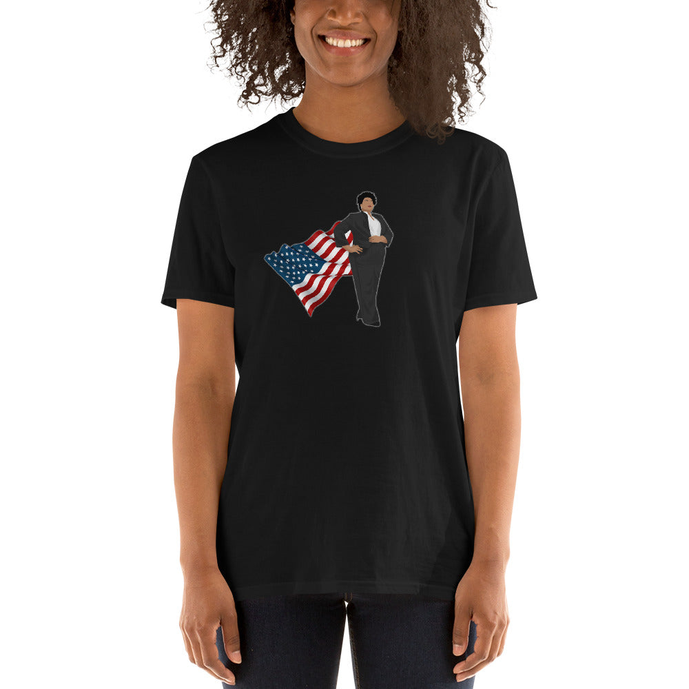 Super Stacey Abrams Hero of Georgia Shirt - Thank You Stacey for Representing Georgia and Standing Up! - Short-Sleeve Unisex T-Shirt