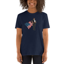 Load image into Gallery viewer, Super Stacey Abrams Hero of Georgia Shirt - Thank You Stacey for Representing Georgia and Standing Up! - Short-Sleeve Unisex T-Shirt