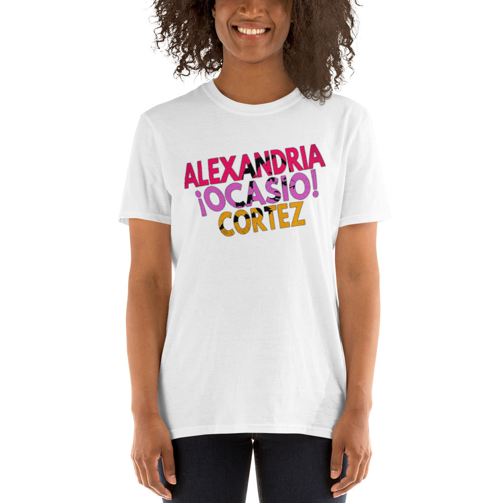 AOC - Alexandria Ocasio-Cortez - AOC Tshirt - Women Get Stuff Done - Change Hope Courage AOC - Inspirational Women Unisex T-Shirt