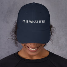Load image into Gallery viewer, It is What it Is Obama Hat - It is what it is Quote Obama Trump hat - Wear a mask Please