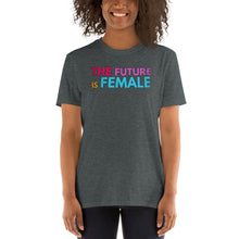 Load image into Gallery viewer, The FUTURE is FEMALE - Women's Equal Rights Short-Sleeve Unisex Vintage T-Shirt