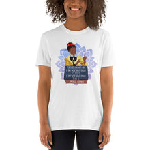 Load image into Gallery viewer, Amanda Gorman Quote Shirt - Inspirational Quote Amanda Gorman - Brave Enough - The Hill We Climb Poem Amanda Gorman - Proud Unisex T-Shirt