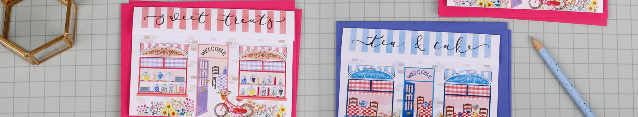 a5 writing paper banner