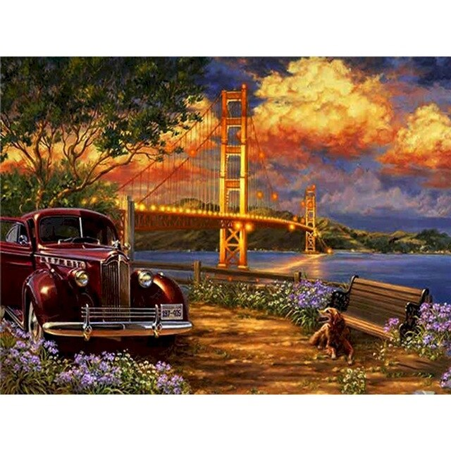 Voiture Collection Golden Gate