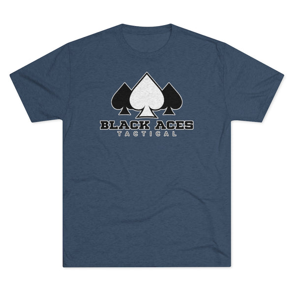 BAT Men's Tri-Blend Crew Tee