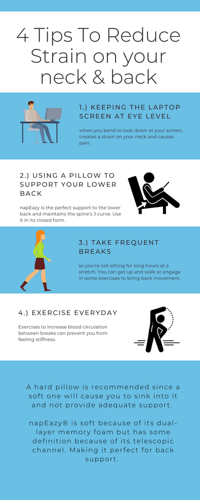 Tips for ergonomics while working from home