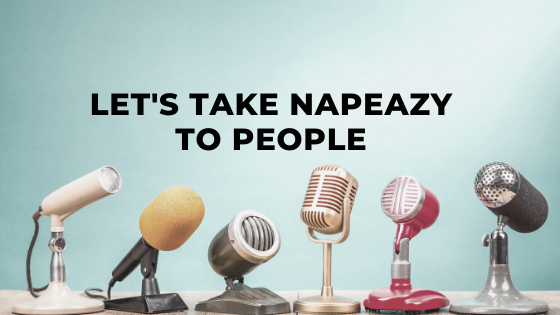 napEazy - World's Best Convertible Pillow - In Press