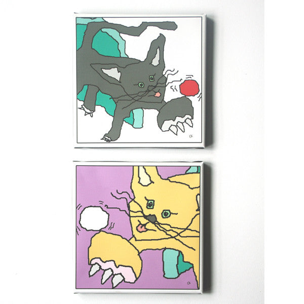 cats - set of 2