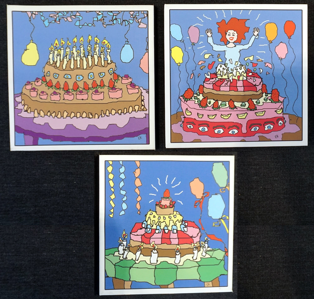 Party cakes - set