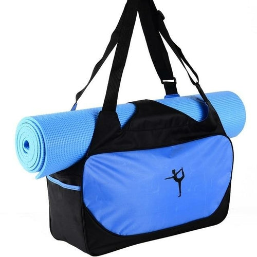 Yoga Bag Multifunctional Clothes Yoga Backpack Shoulder Waterproof