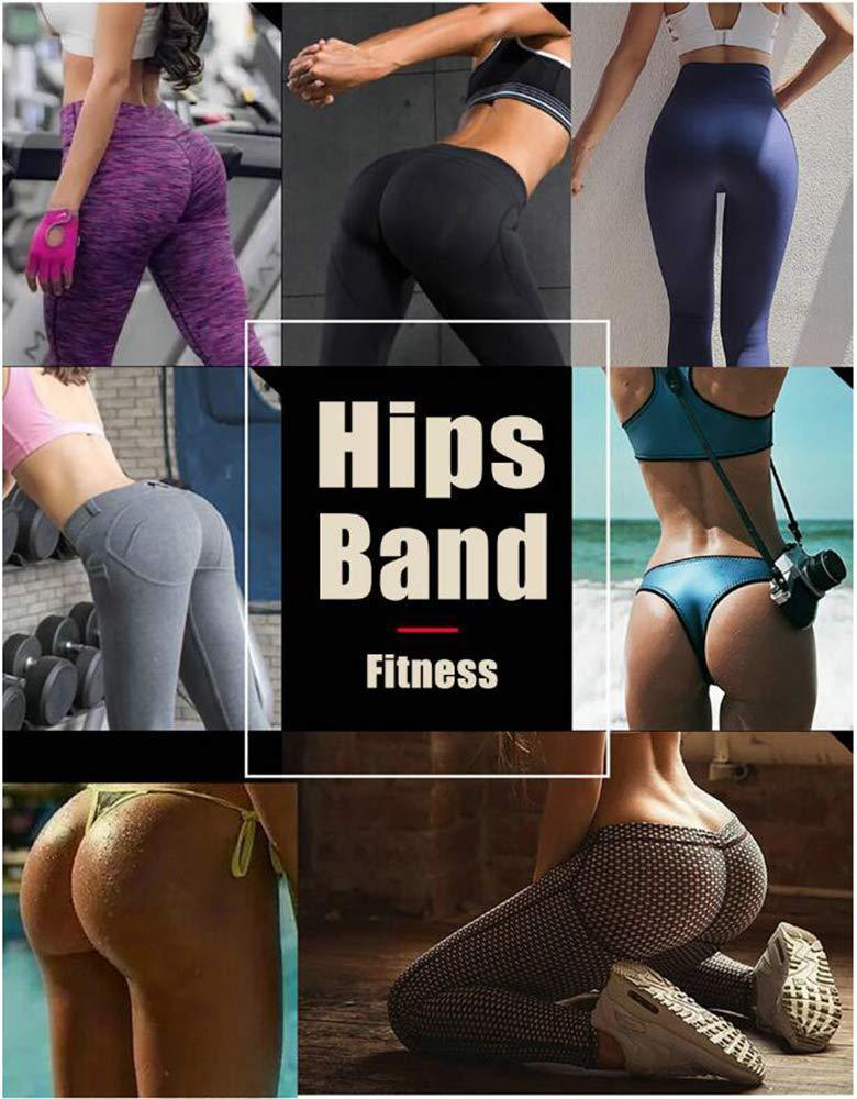 3PCS Hip Resistance Bands Yoga Anti-slip Gym Fitness Latex Band Leg