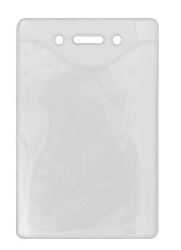 Ruckus VBH Clear Vinyl Badge Holder (100 Pack)