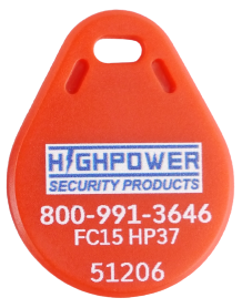 Highpower HFR Proximity Fob 125Khz Red