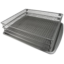 Load image into Gallery viewer, Weston Jerky Non-Stick 3-Tier Drying Rack with Baking Sheet
