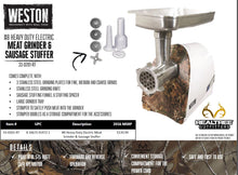Load image into Gallery viewer, Weston Heavy Duty Grinder #8: Realtree