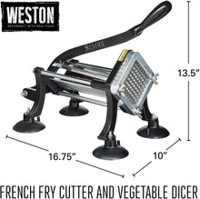 Load image into Gallery viewer, Weston Restaurant Quality Fry Cutter