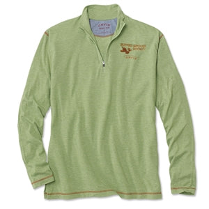 RGS-Orvis Drirelease Long-Sleeved Zipneck Casting Shirt