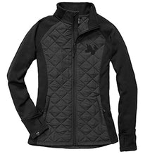 Load image into Gallery viewer, Womens Quilted Hybrid Jacket