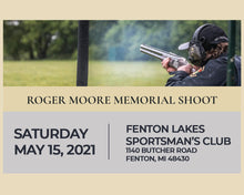 Load image into Gallery viewer, Roger Moore Memorial Shoot