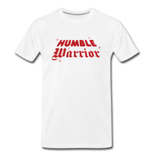 Load image into Gallery viewer, Humble Warrior Sparkle T-Shirt - white