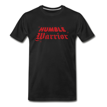 Load image into Gallery viewer, Humble Warrior Sparkle T-Shirt - black